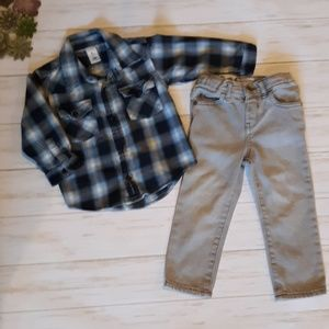 OLD NAVY & CHILDRENS PLACE 2T